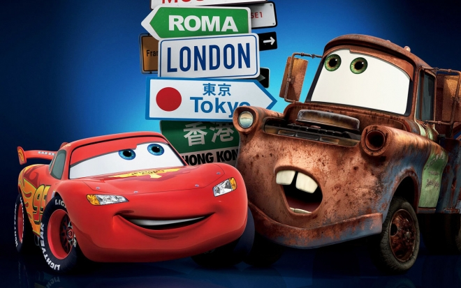 cars movie wallpaper