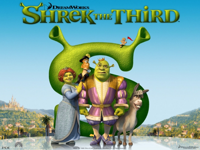 shrek movie wallpaper