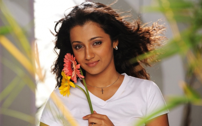 beautiful trisha widescreen wallpaper