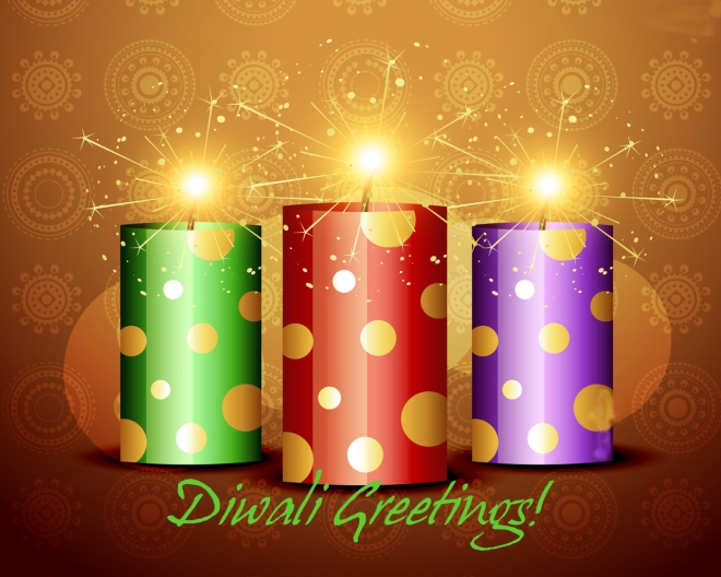 diwali sparking wallpaper