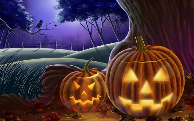 scary halloween wallpaper