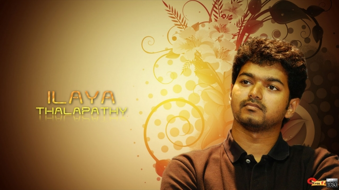 vijay brown wallpaper