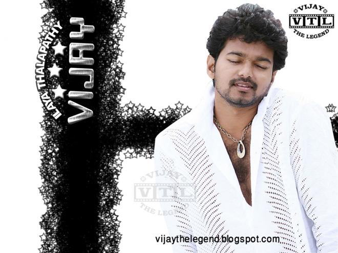 vijay white wallpaper