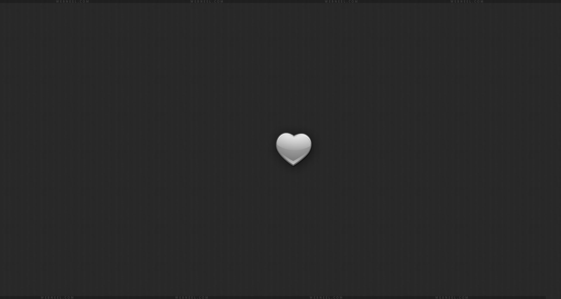 black wallpaper love heart hd