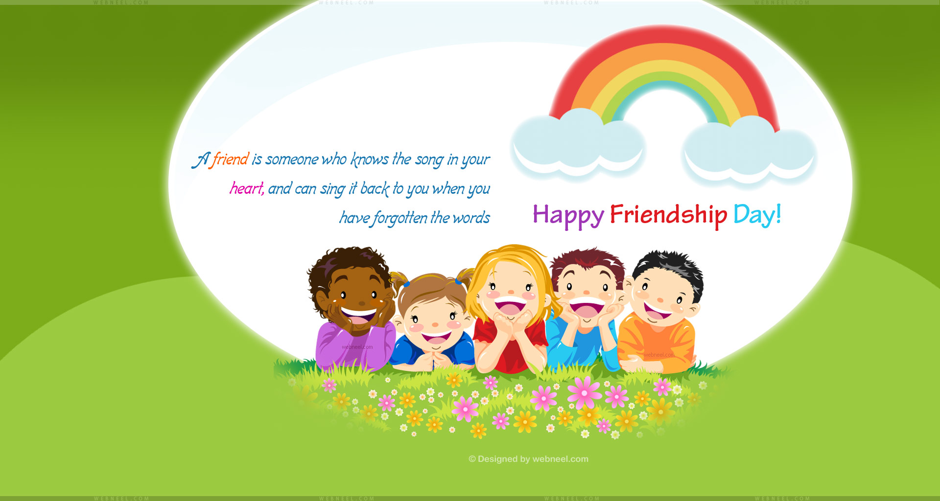 friendship day wallpaper