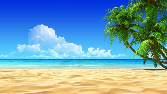 3d beach sand wallpaper