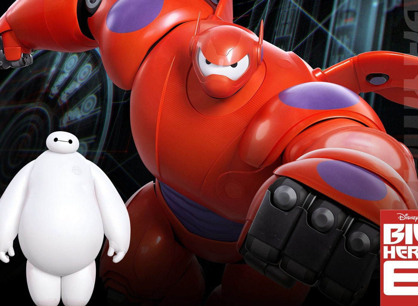 big hero 6 animation wallpaper