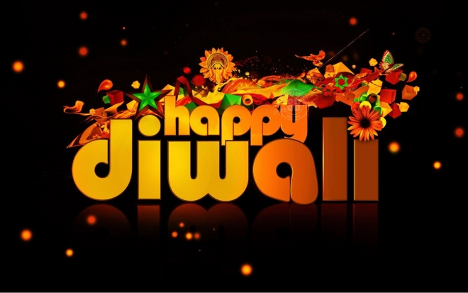 diwali egreeting wallpaper