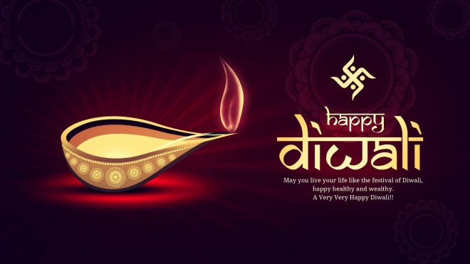 diwali e card wallpaper
