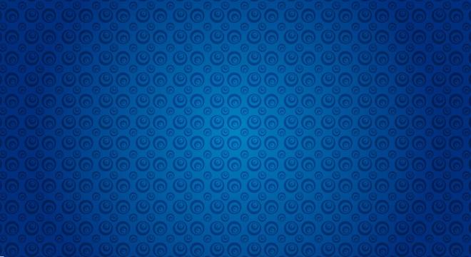 blue wallpaper circles