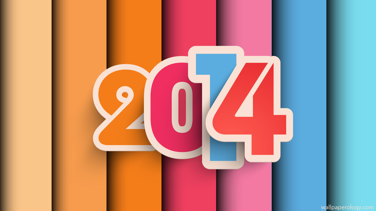 2014 new year wallpaper