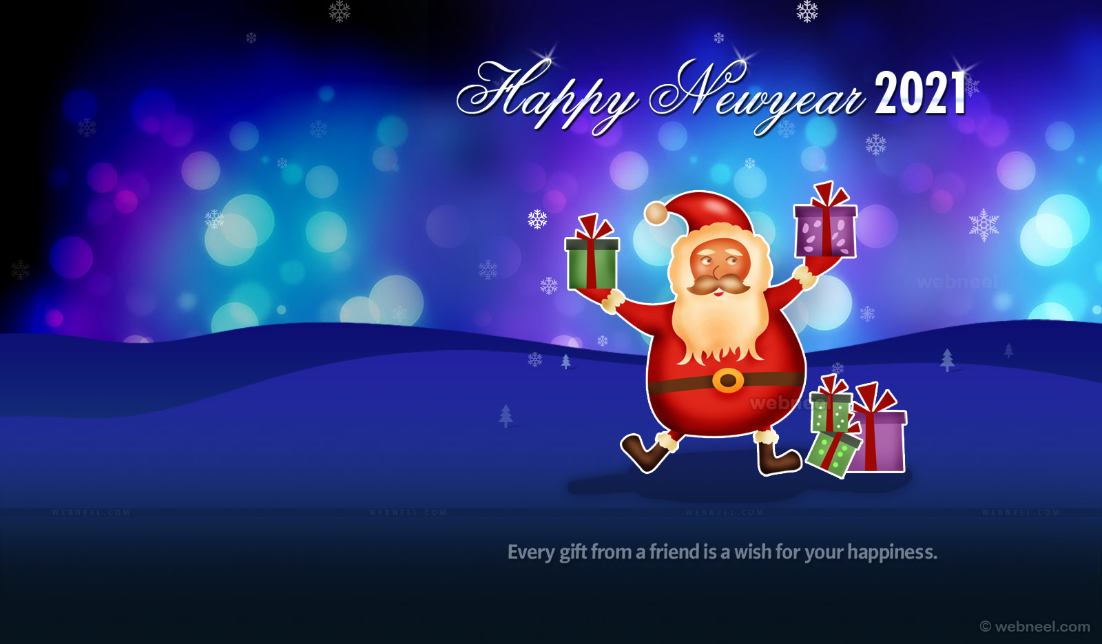 happy new year wallpaper newyear wallpaper santa