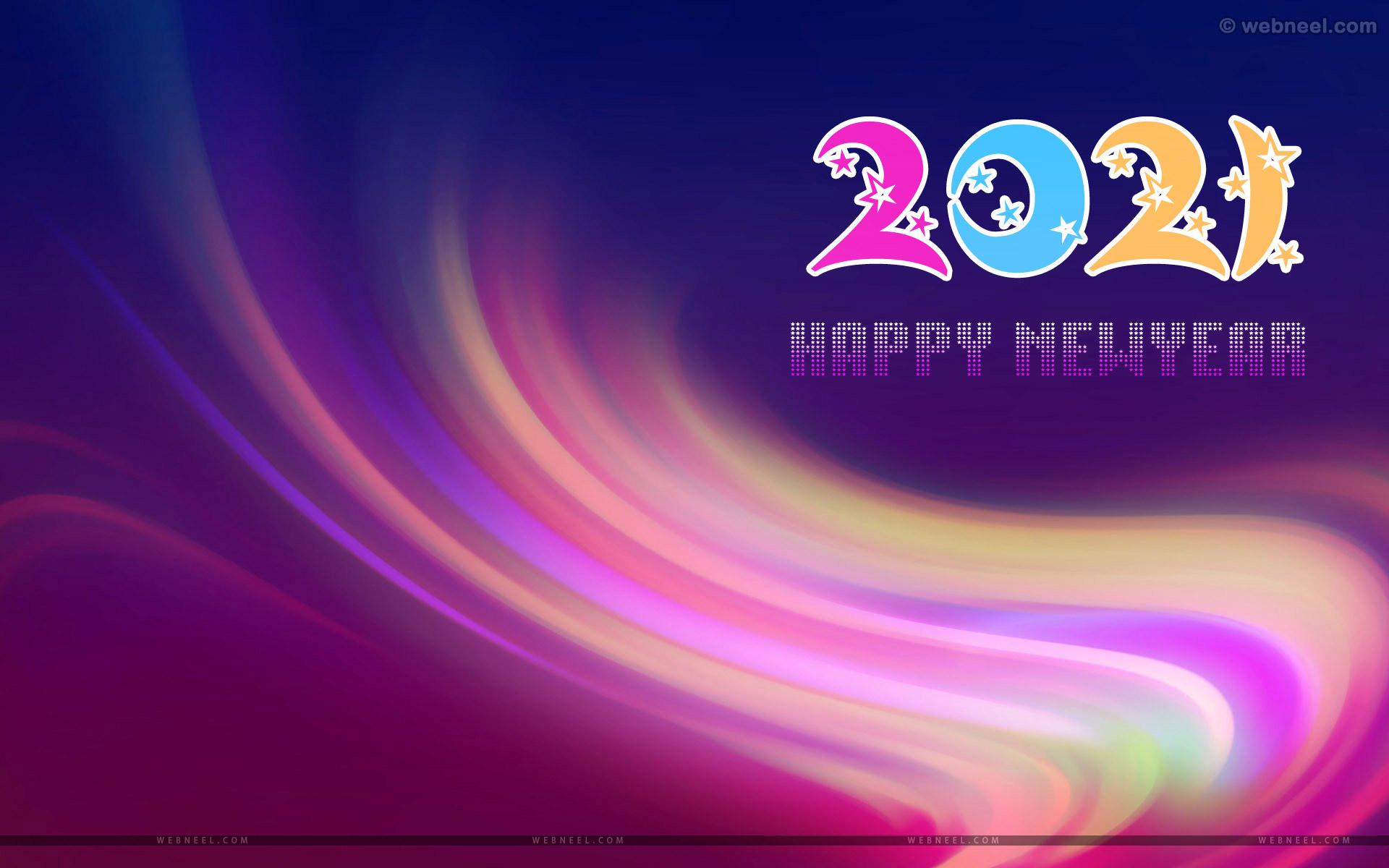 free happy new year wallpaper 2021