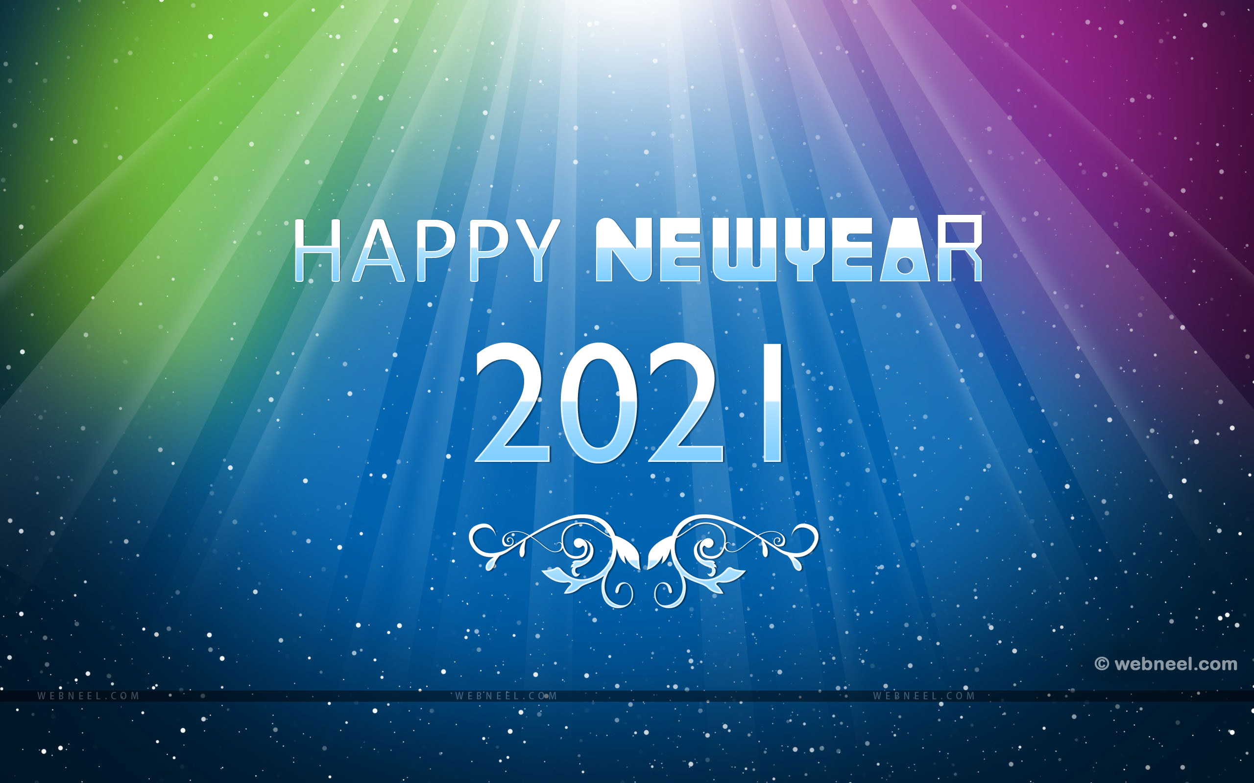 60 Beautiful 2021 New Year Wallpapers For Your Desktop