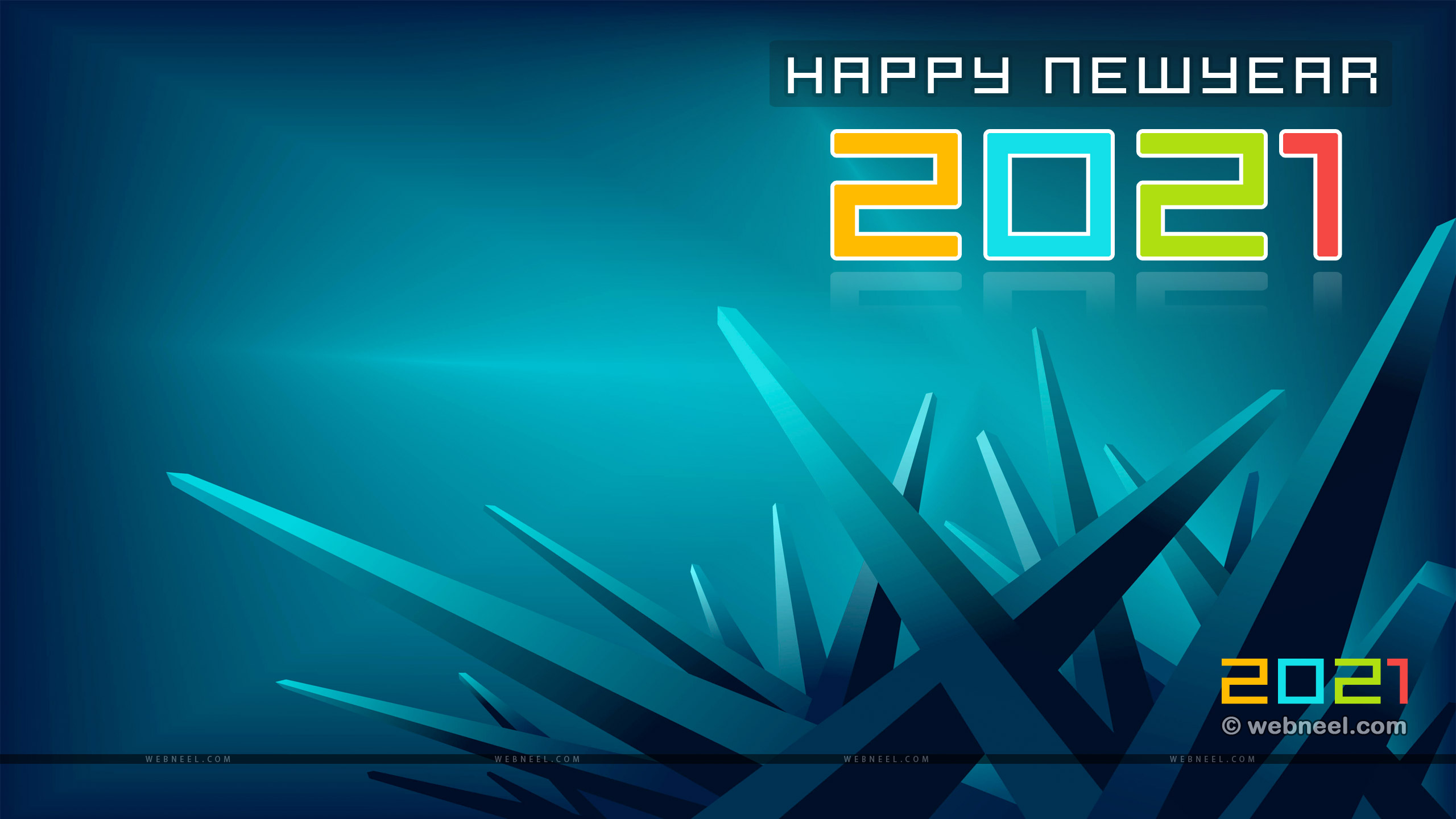 new year wallpaper abstract